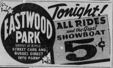 Eastwood Park - MAY 11 1942 AD