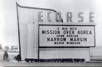 Ecorse Drive-In Theatre - MARQUEE - PHOTO FROM RG