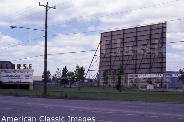 Ecorse Drive-In Theatre - FROM AMERICAN CLASSIC IMAGES