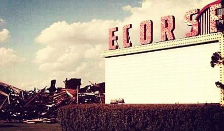 Ecorse Drive-In Theatre - FROM MICHIGAN DRIVEINS 1