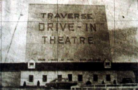 Traverse Drive-In Theatre - TRAVERSE DRIVE-IN ORIGINAL 1950 SCREEN TOWER