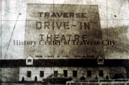 Traverse Drive-In Theatre - OLD PHOTO