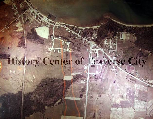 Traverse Drive-In Theatre - HISTORIC AERIAL