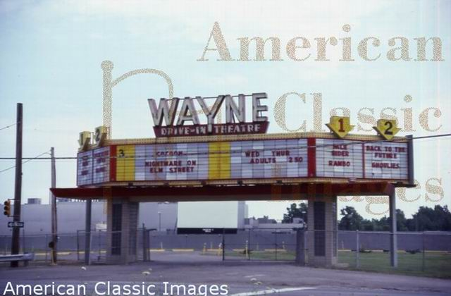 Wayne Drive-In Theatre - FROM AMERICAN CLASSIC IMAGES