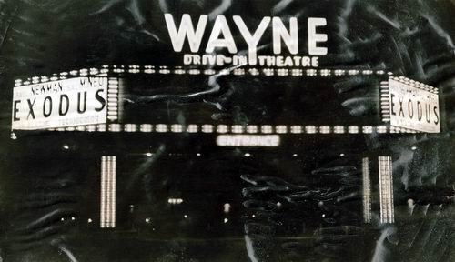 Wayne Drive-In Theatre - MARQUEE AND ENTRANCE FROM F RYAN