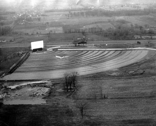 Wayne Drive-In Theatre - AERIAL FROM F RYAN