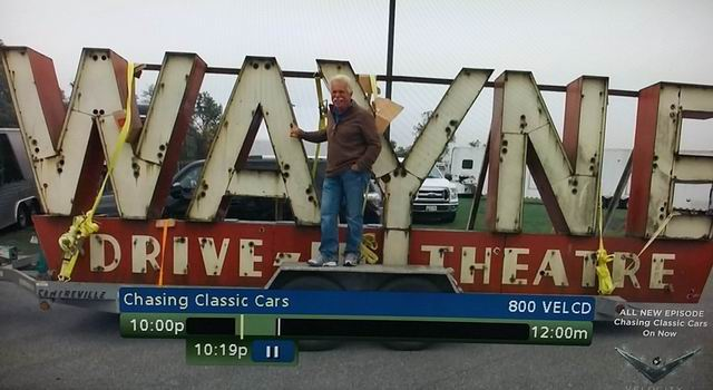 Wayne Drive-In Theatre - SIGN FROM ALEX
