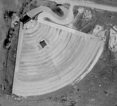 Wayne Drive-In Theatre - OLD AERIAL