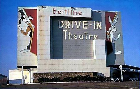 Beltline 3 Drive-In Theatre - SCREEN - PHOTO FROM RG