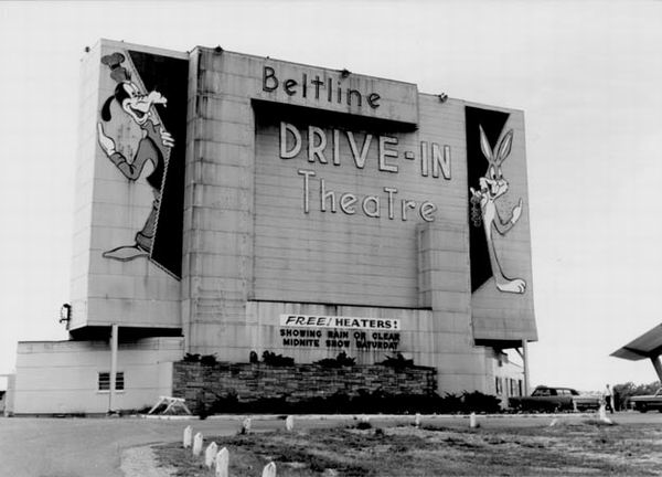 Beltline 3 Drive-In Theatre - SCREEN FROM JACK LOEKS THEATRES COLLECTION