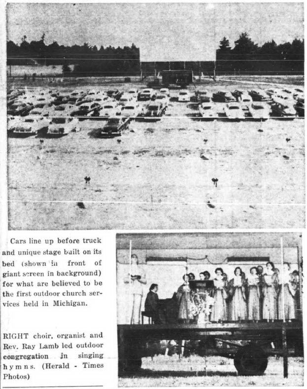 Sky-Hi Drive-In Theatre - ARTICLE FROM JULY 7 1955