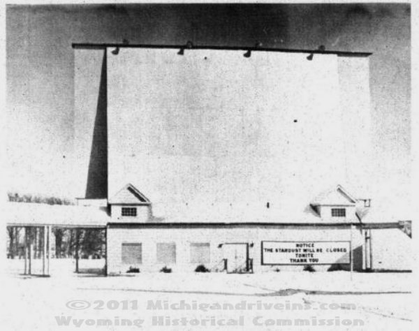 Stardust Drive-In Theatre - OLD PHOTO