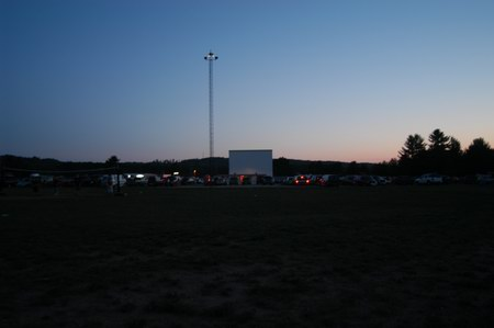 Cherry Bowl Drive-In Theatre - FROM REAR OF LOT