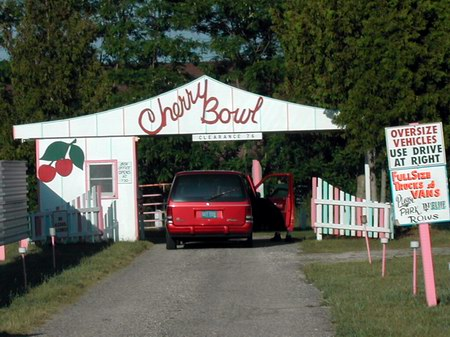 Cherry Bowl Drive-In Theatre - ENTRANCE - PHOTO FROM KIM CONNEL