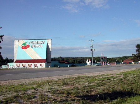 Cherry Bowl Drive-In Theatre - LOT - PHOTO FROM KIM CONNEL
