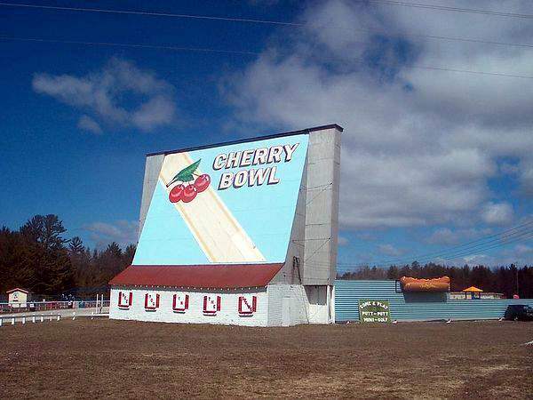 Cherry Bowl Drive-In Theatre - SCREEN TOWER