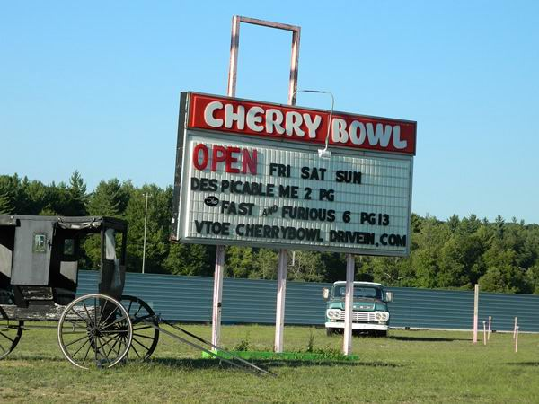 Cherry Bowl Drive-In Theatre - SUMMER 2013 FROM RON
