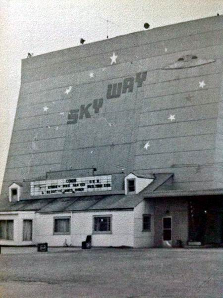 Skyway Drive-In Theatre - FROM OWOSSO HISTIORICAL COMMISSION