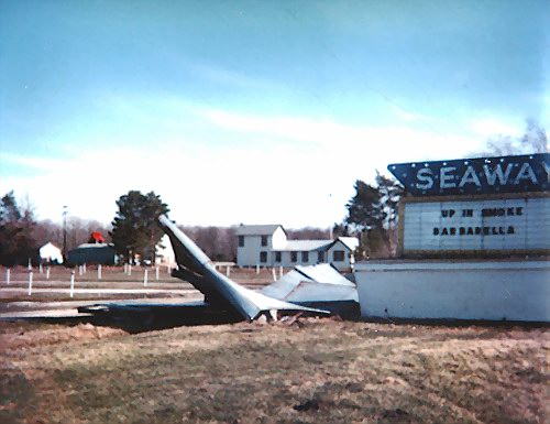 Seaway Drive-In Theatre - VINTAGE SHOT FROM HARRY MOHNEY AND CURT PETERSON