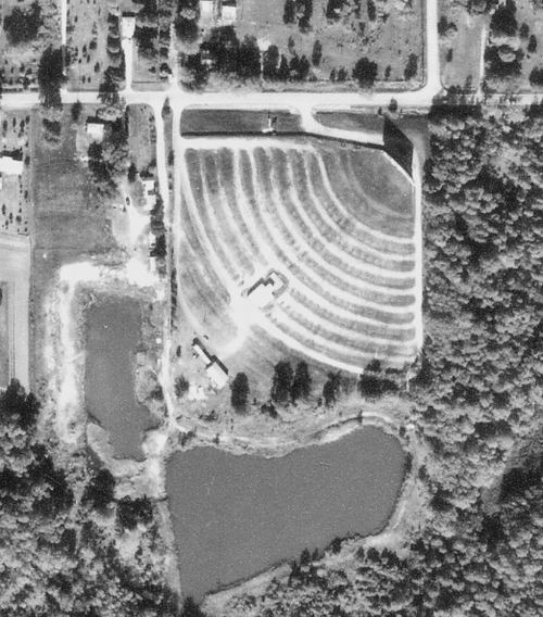 Seaway Drive-In Theatre - OLD AERIAL