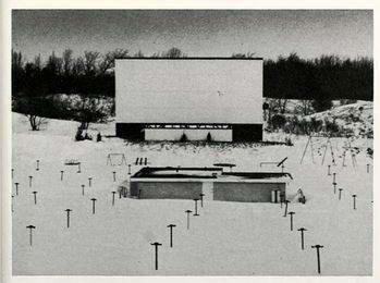 Greenville Drive-In Theatre - OLD PHOTO