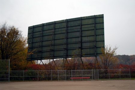 Douglas Auto Theatre - SCREEN REAR