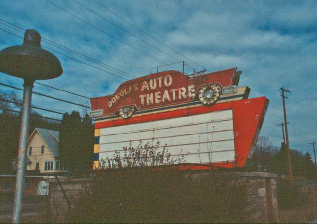 Douglas Auto Theatre - OLD PHOTO