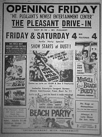 Pleasant Drive-In Theatre - FROM ANDREW THE LIBRARIAN