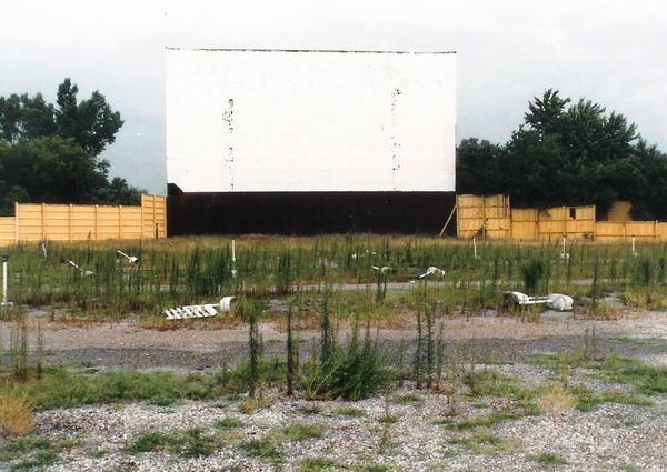 Pontiac Drive-In Theatre - SCREEN 1991 FROM GREG MCGLONE