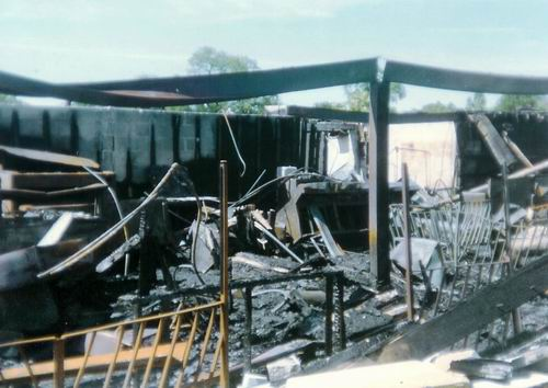 Pontiac Drive-In Theatre - 2ND FIRE 1993 FROM GREG MCGLONE