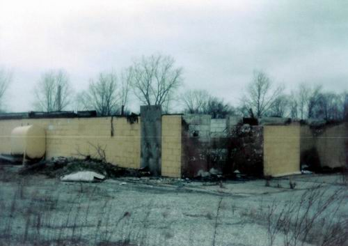 Pontiac Drive-In Theatre - 1ST FIRE 1992 FROM GREG MCGLONE