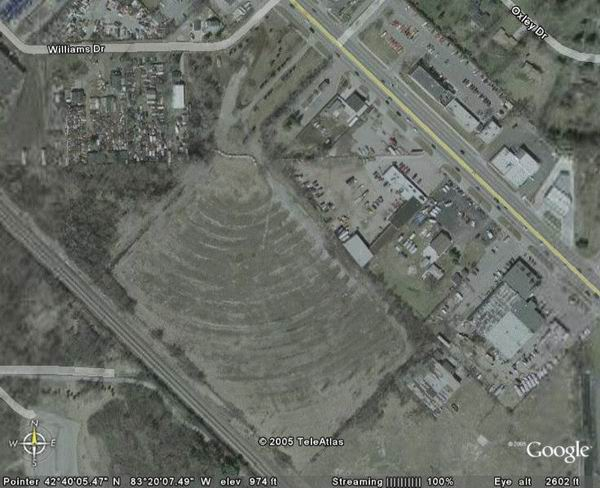 Pontiac Drive-In Theatre - AERIAL FROM JON