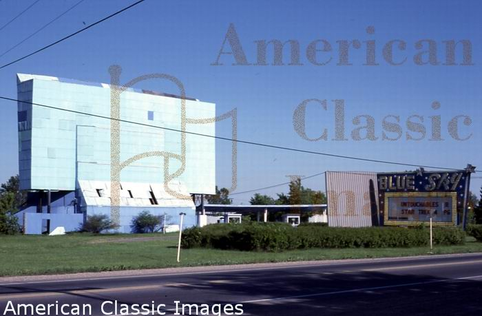Blue Sky Drive-In Theatre - FROM AMERICAN CLASSIC IMAGES