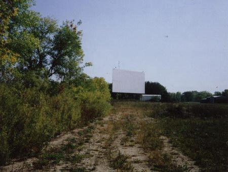 Sky Top Drive-In Theatre - DRIVEWAY AND SCREEN - PHOTO FROM RG