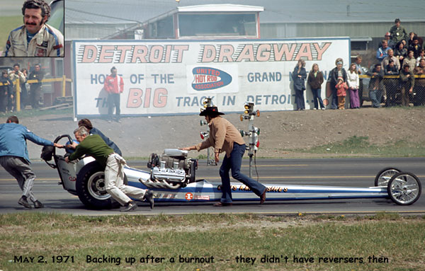 DETROIT DRAGWAY MAY 2 1971 2