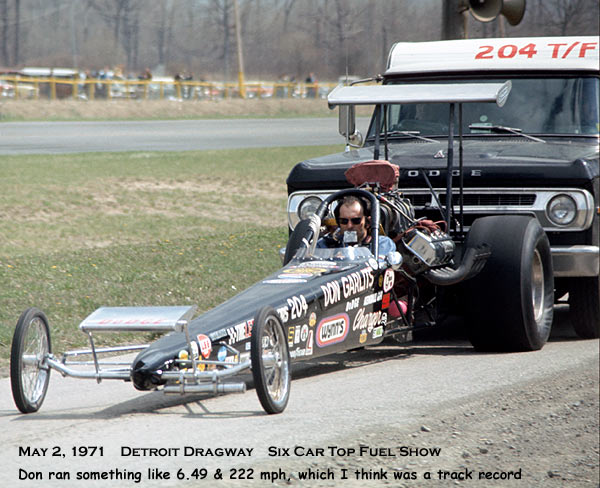 DETROIT DRAGWAY MAY 2 1971 3