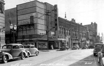 Vogue Theatre - OLD POSTCARD PHOTO
