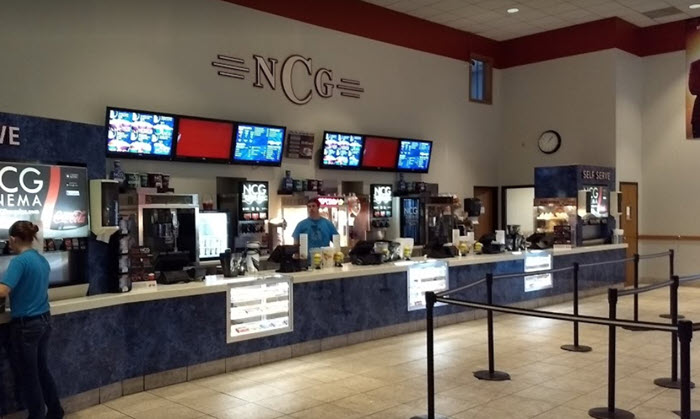NCG Midland Cinemas - INTERIOR CONCESSION