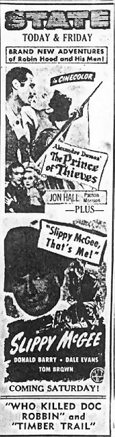 State Theatre - OLD AD