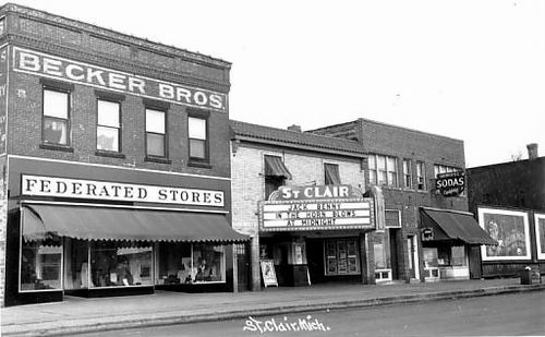 St Clair Theatre - OLD PHOTO