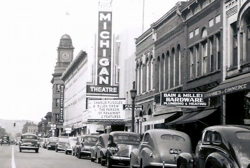 Michigan Theatre - VINTAGE PIC