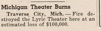 Michigan Theatre - JAN 1948 ARTICLE FROM JIM THOMPSON