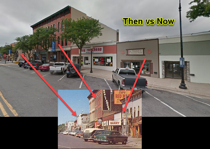 Barry Theatre - THEN VS NOW