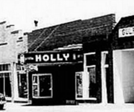 Holly Theatre - OLD PHOTO