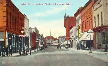 Lyric Theatre - OLD POST CARD