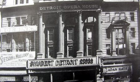 Old Detroit Opera House - OLD PHOTO