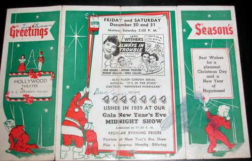 Hollywood Theatre - FLYER