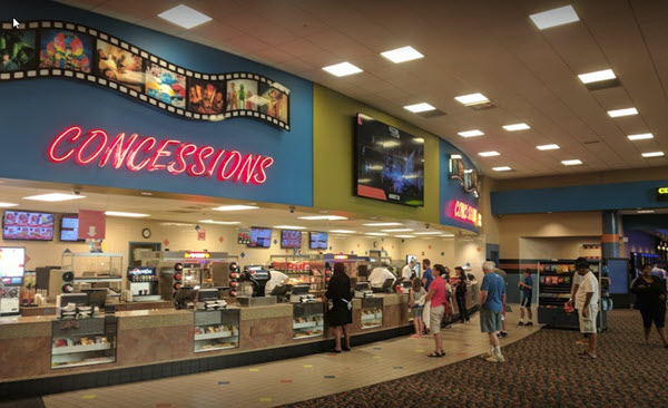 Troy Grand Digital Cinema 16 - INTERIOR CONCESSION