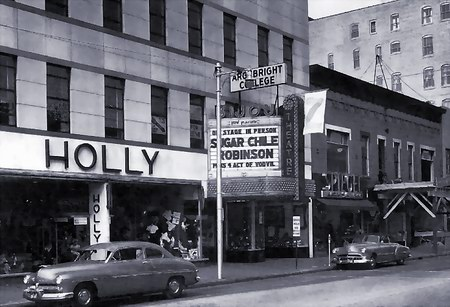 Bijou Theatre - MARQUEE FROM STREET