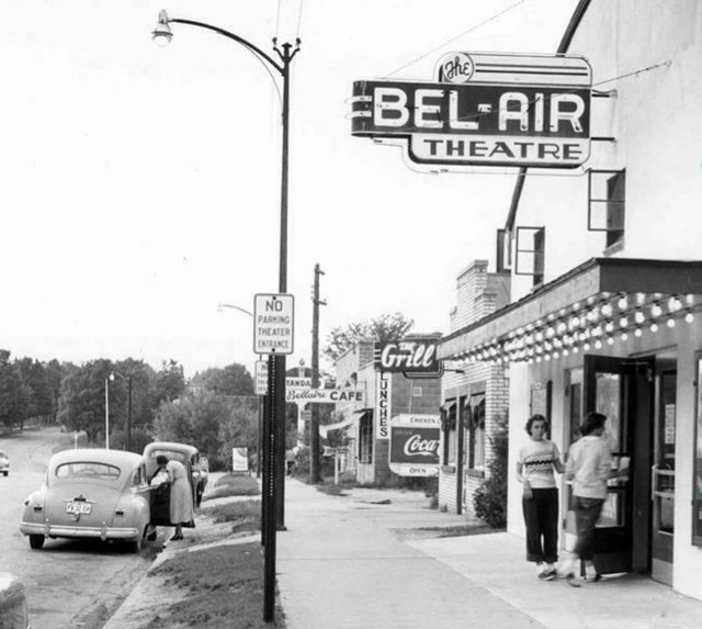 Bellaire Theatre - OLD PHOTO